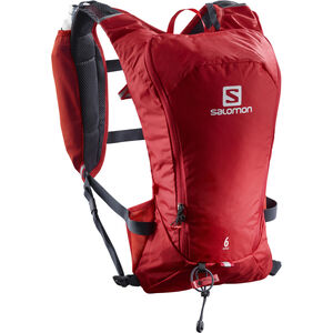 Salomon Agile 6 Backpack Set Barbados Cherry/Graphite bei fahrrad.de Online