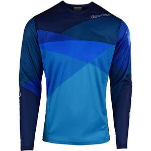 Troy Lee Designs Sprint LS Jersey Herren jet/ocean/blue jet/ocean/blue