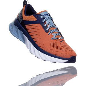Hoka One One Arahi 3 Running Shoes Men Nasturtium/Patriot Blue