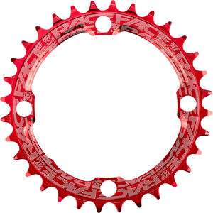 Race Face Narrow Wide Chainring 4-bolt 10/11/12-speed rot rot
