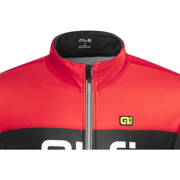 Alé Cycling R-EV1 Rumbles Jacket Men Black-Red black-red