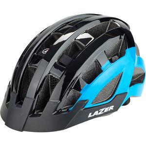 Lazer Compact Deluxe Helmet black-blue black-blue