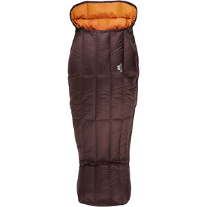 Mountain Equipment Spellbinder Sleeping Bag Damen dark chocolate/blaze dark chocolate/blaze