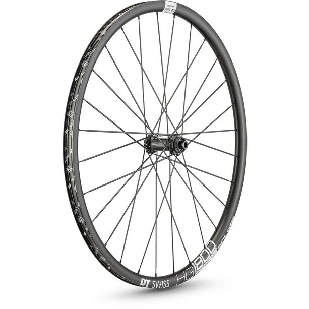"DT Swiss HG 1800 Spline 25 Vorderrad 29"" Disc CL 110/12mm Steckachse Boost black"