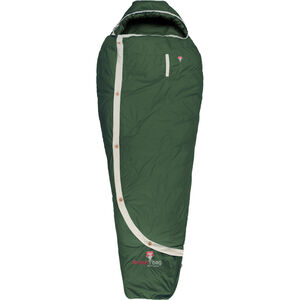 Grüezi-Bag Biopod DownWool Nature Sleeping Bag basil green basil green