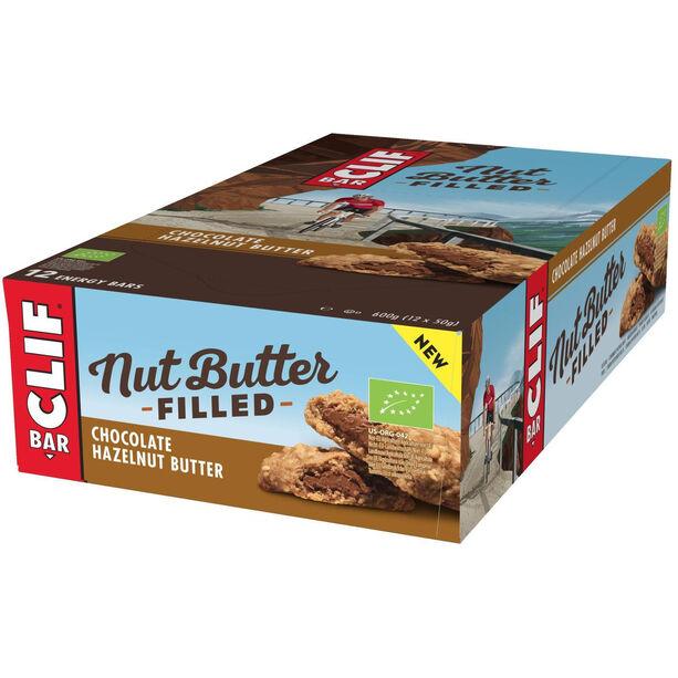CLIF Bar Nut Butter Energy Riegel Box 12x50g Chocolate Hazelnut
