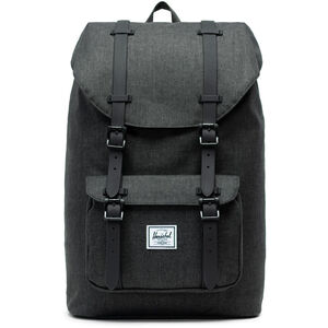 Herschel Little America Mid-Volume Backpack 17l black crosshatch/black black crosshatch/black