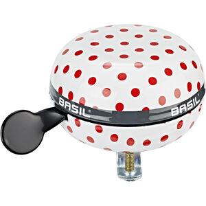 Basil Big Bell Polkadot Glocke white/red dots white/red dots