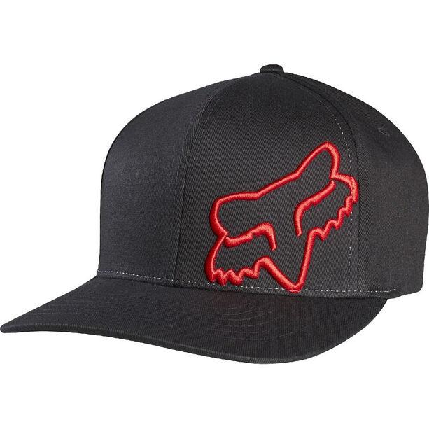 Fox Flex 45 Flexfit Hat Herren black/red