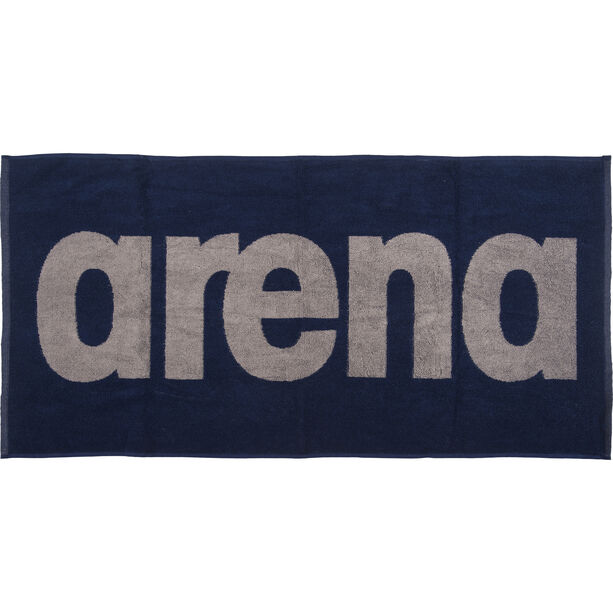 arena Gym Soft Towel navy-grey