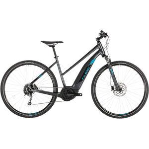 Cube Cross Hybrid ONE 500 Trapez Iridium'n'Blue bei fahrrad.de Online