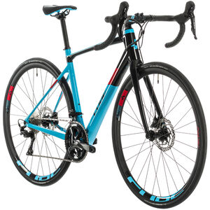 Cube Axial WS GTC Pro Damen light blue/red light blue/red