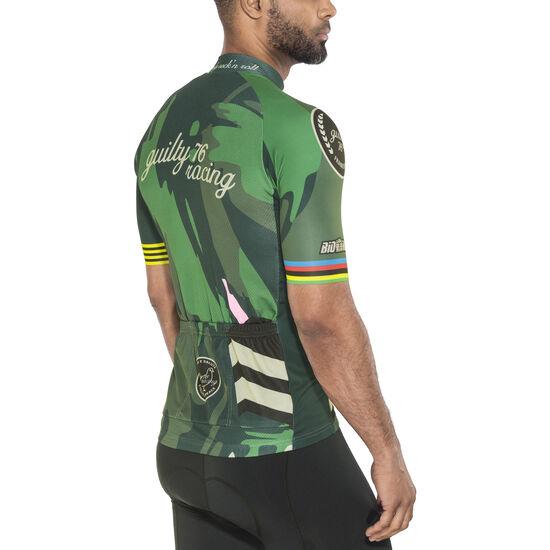 guilty 76 racing Classic Edition Jersey Men schwarz/oliv bei fahrrad.de Online