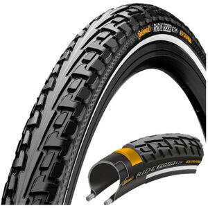 Continental Ride Tour Reifen 27 x 1 1/4 Zoll Draht Reflex schwarz/schwarz schwarz/schwarz