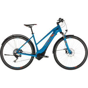 Cube Cross Hybrid Race 500 Allroad Trapeze Blue'n'Orange bei fahrrad.de Online
