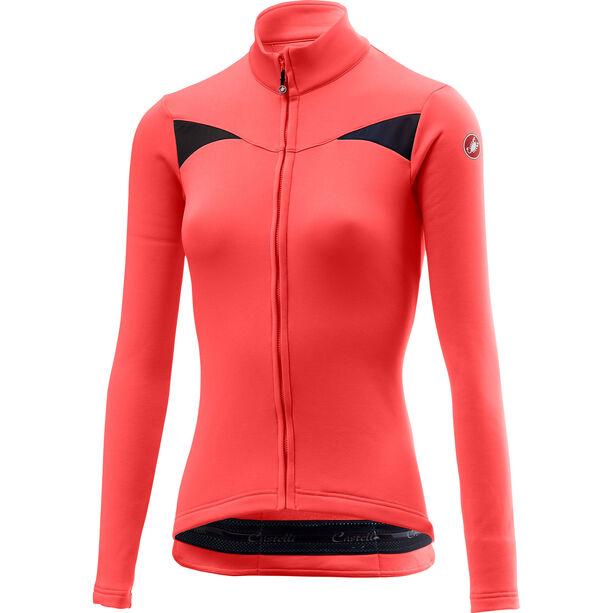 Castelli Sinergia Full-Zip Trikot Damen brilliant pink