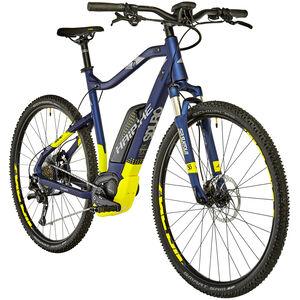 HAIBIKE SDURO Cross 7.0 Herren Blau/Gelb/Silber matt bei fahrrad.de Online