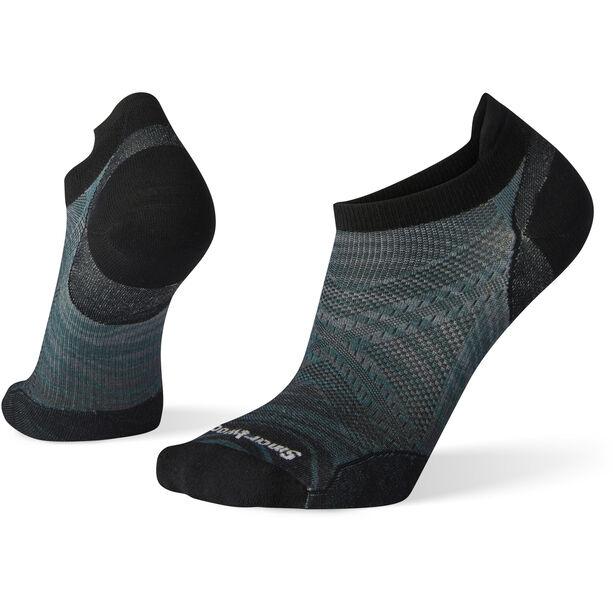 Smartwool PhD Run Ultra Light Wave Print Micro Socken taupe