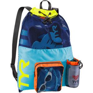 TYR Big Mesh Mummy Backpack blue/yellow blue/yellow