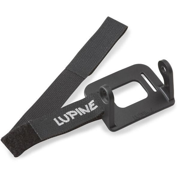 Lupine Helmhalter für Piko / Neo schwarz