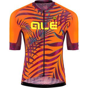 Alé Cycling Graphics PRR Sunset SS Jersey Herren flou orange-plum flou orange-plum