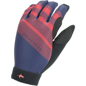 Sealskinz Solo Super Thin MTB Handschuhe navy blue/red/black navy blue/red/black