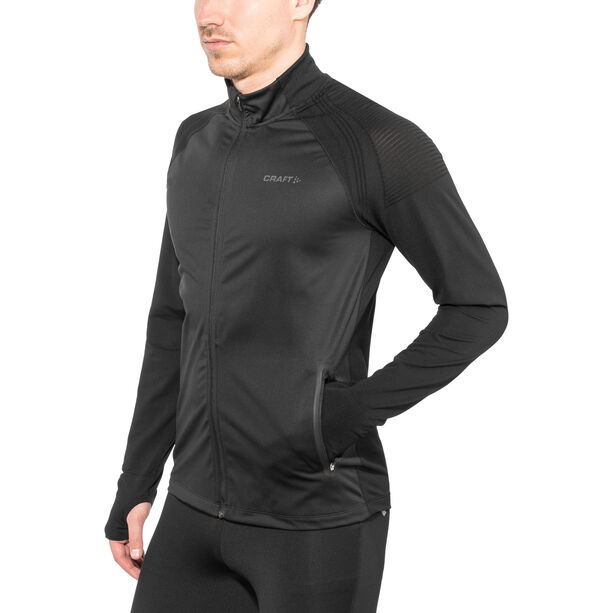 Craft Urban Run Fuseknit Jacket Herren black