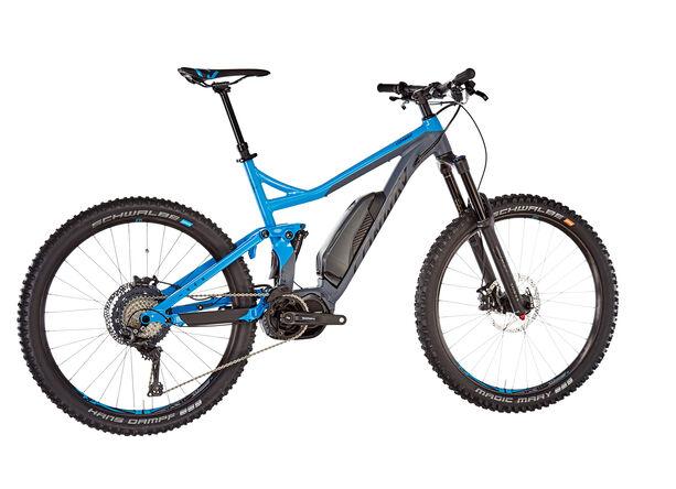 Conway eWME 427 grey matt/blue