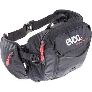EVOC Hip Pack Race Backpack 3 L + Hydration Bladder 1,5 L black