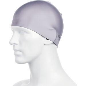 speedo Plain Moulded Silicone Cap chrome chrome