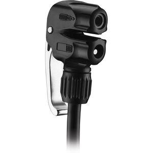 Lezyne Slip-Fit Dual-Pumpenkopf für Presta und Schrader Ventile schwarz schwarz