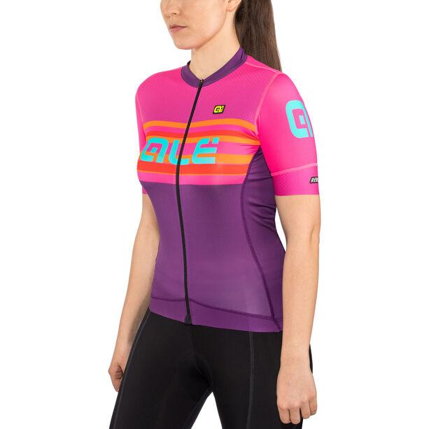 Alé Cycling R-EV1 Summer Shortsleeve Jersey Damen purple-fluo magenta