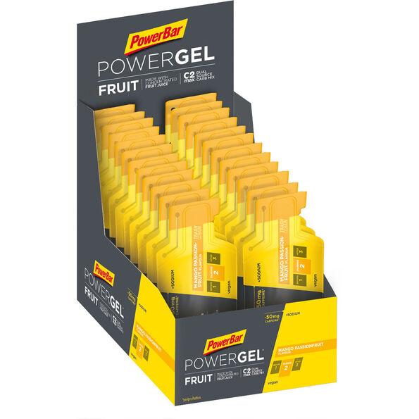 PowerBar PowerGel Fruit Box 24x41g Mango-Passionfruit mit Koffein