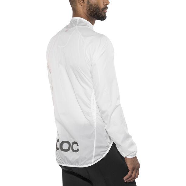 POC Essential Road Wind Jacket Herren hydrogen white