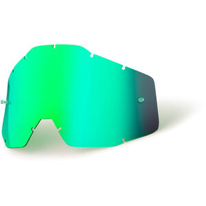 100% Replacement Lenses Kinder green / mirror green / mirror