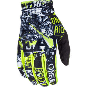 ONeal Matrix Gloves attack black/neon yellow