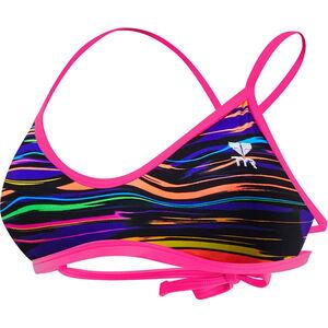 TYR Fresno Mojave Tieback Bikini Top Women purple/multi