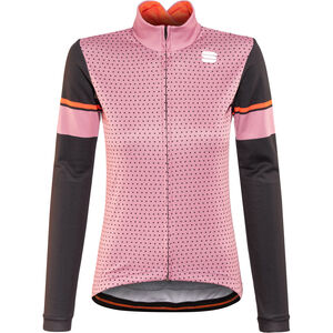 Sportful Cometa Thermal LS Jersey Women heather rose/black/red fluo bei fahrrad.de Online