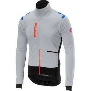 Castelli Alpha Ros Jacket Herren silver gray/black silver gray/black