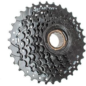 SunRace MFM300 Schraubkranz 7-fach black black