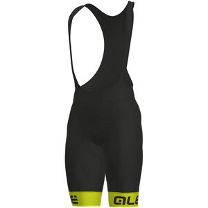 Alé Cycling Solid Frequenza Bibshorts Men fluo yellow-black bei fahrrad.de Online
