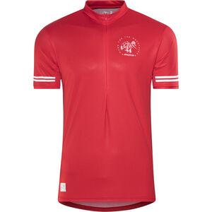 Maloja DomenicaM. All Mountain Short Sleeve Jersey Men red poppy