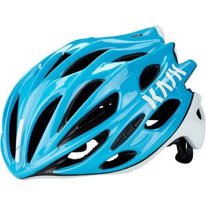 Kask Mojito X Helm hellblau/weiß bei fahrrad.de Online