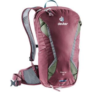 Deuter Race Backpack 8l maron/khaki maron/khaki