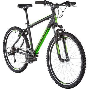 """Serious Rockville 26"""" matt black/green bei fahrrad.de Online"""