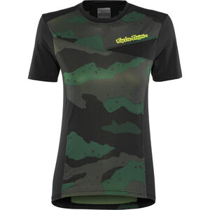 Troy Lee Designs Skyline SS Jersey Damen camo/stealth/black camo/stealth/black