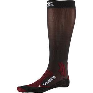 X-Socks Run Energizer Socks dark ruby/opal black dark ruby/opal black