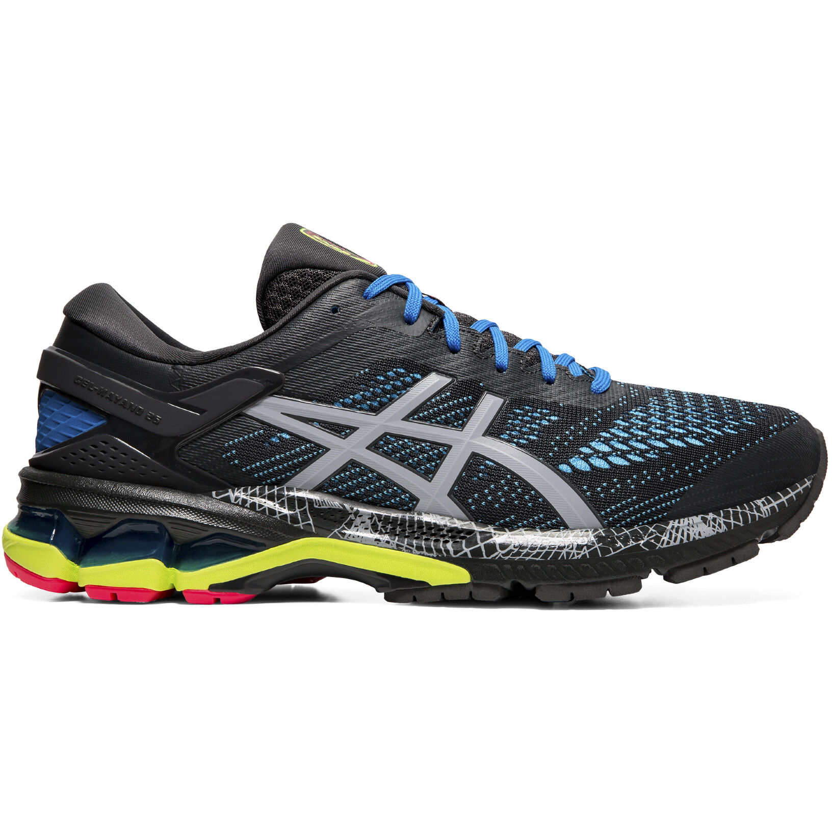 asics Gel Kayano 26 Lite Show Schuhe Herren graphite greypiedmont grey