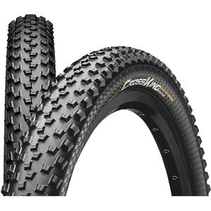 "Continental Cross King 2.6 Performance Faltreifen 27.5x2.60"" TL-Ready E-25 black black"
