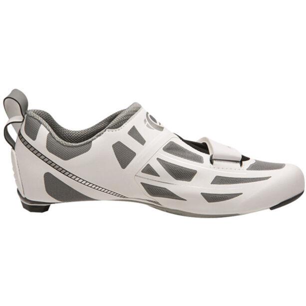 PEARL iZUMi Tri Fly Elite V6 Shoes Damen white/silver